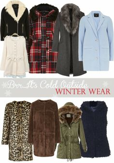 Sparkling Footsteps: BRR..It's Cold Outside (Your Guide to Outerwear}