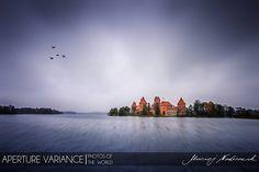Fly over Trakai by Maciej Nadstazik on 500px