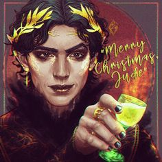 """Tamara Kadoura on Instagram: """"Cardan Greenbriar - character of The cruel prince by @blackholly Merry Christmas and Yule for everybody!🎉 #digitalart…"""" Fanart, Holly Black Books, Dan Green, Queen Of Nothing, Mythology Books, Favorite Book Quotes, Famous Books, Girl Meets World, The Little Prince"""
