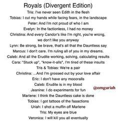 Divergent version of royals!) divergent stuff but. I'ma divergent you cant controll my! Divergent Memes, Divergent Hunger Games, Divergent Fandom, Divergent Trilogy, Divergent Insurgent Allegiant, Tfios, Divergent Fanfiction, Insurgent Quotes, Lorde