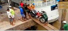Hipernovas: 12 Idiotas e Uma Moto (Vídeo)