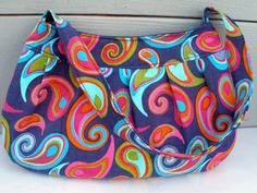 Buttercup Bag. You can make a really cute bag using just a fat quarter of fabric, and some lining fabric.