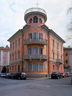 Palazzina Galliano in Cuneo, Italy  Province of Cuneo, Piemonte