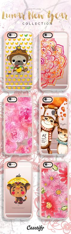Celebrate Lunar New Year or the Year of the Monkey, shop our phone cases here: https://www.casetify.com/CNY#/