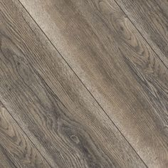 "Kronotex Villa Harbour Oak Grey is a high-quality light grey and light brown flooring. It has a slight wood texture to give it the feel of real wood. The micro-beveled edges make each plank really stand out. The MegaLoc locking system helps with installation because you can really hear the ""click"" while placing the planks together. Each plank is 7.4"" wide so this floor is not only durable but also luxurious-looking. Install this floor in your home today for a laminate that will..."