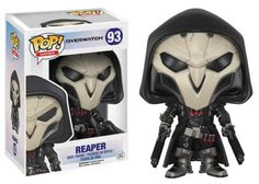 Your favorite characters from Blizzard Entertainment's Overwatch get the Pop! Vinyl treatment! This Overwatch Reaper Pop! Vinyl Figure features the deadly assassin as an adorable stylized figure. Standing about 3 3/4 inches tall, this figure is packaged in a window display box. Ages 17 and up. #funko #popvinyl #actionfigure #collectible #Overwatch #Reaper