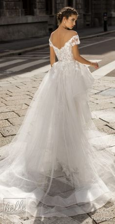 ediz 2019 bridal illusion off the shoulder illusion bateau sweetheart neckline full embellishment romantic sheath wedding dress a line overskirt chapel train bv -- Tarik Ediz 2019 Wedding Dresses Western Wedding Dresses, Stunning Wedding Dresses, White Wedding Dresses, Boho Wedding Dress, Designer Wedding Dresses, Beautiful Gowns, Bridal Dresses, Lace Wedding, Wedding Dress Sleeves