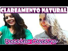 MECHAS NO CABELO EM CASA (SEM QUÍMICA - SEM DETONAR O CABELO) Fran Adorno - YouTube