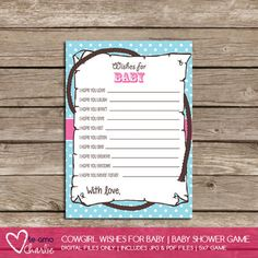 Trendy Baby Shower Game Ideas for
