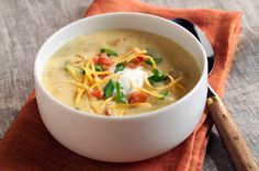 Bacon & Baked Potato Soup recipe
