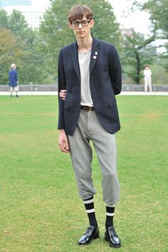 やんちゃ少年が着こなすクラシックスタイル - soe(ソーイ) 2012年春夏コレクション