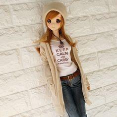 """Beige Long Knit Cardigan & new Beige beanie on sale now at Mirai Store & later online. ロングニットカーディガンとニューベージュビニ帽ミライストアで先行販売中。"""