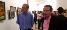 Exposición de cuadros de la escuela 'Academia Hangel ArtStudio'