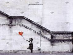 Banksy. There is always hope