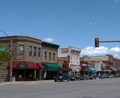 Historic downtown Cody, Wy...love it there
