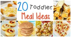20 healthy and tasty toddler meal ideas!