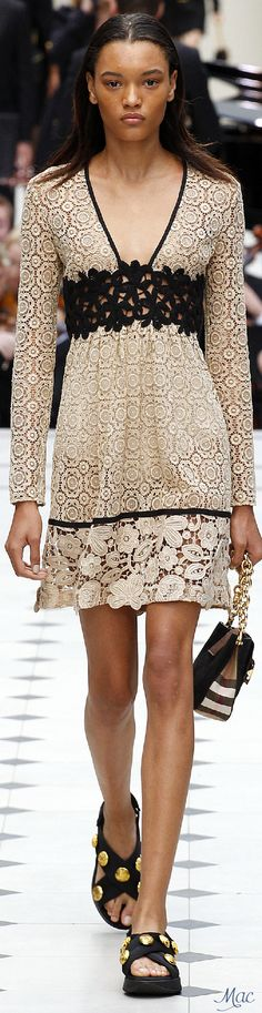 Spring 2016 Ready-to-Wear Burberry Prorsum