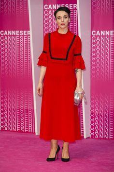 Amanda Abbington At the awards ceremony and the screening of 'Safe' during Canneseries 2018 at the Palais du Festival in Cannes, France Mary Watson, Amanda Abbington, Dressed To The Nines, Celebs, Celebrities, Celebrity Dresses, Celebrity Pictures, Cannes, Sherlock