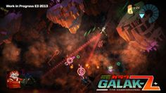 'Ultimate space anime fantasy' Galak-Z plots course for a Vita near you | Joystiq