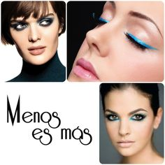 Azúl para los ojos Maquillaje Primavera-Verano 2016  http://www.menosesmasmoda.com/2016/03/tendencia-maquillaje-primavera-verano.html