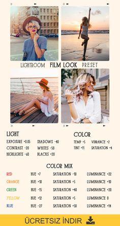 Adobe Lightroom Ücretsiz Lightroom Mobil Önayarlar