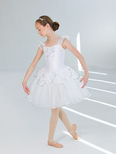 Waltz of the Snowflakes | Revolution Dancewear 2015 Costume Collection