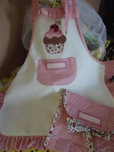 Apron with PAP (DIY) in patchwork