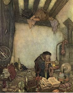 The Alchemist by Edmund Dulac