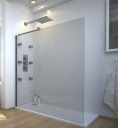 Bathroom Wet Room 1200 x 900 Walk In Shower Enclosure with Stone Tray and Waste