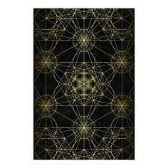 Metatron's Cube Network Poster | Zazzle.com Communication Networks, Custom Posters, Design Your Own, Cube, Paper, Gender, Unisex, Group, Products