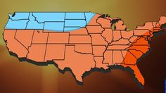 Temperatures for fall will be looking below average in the Northwest and above…
