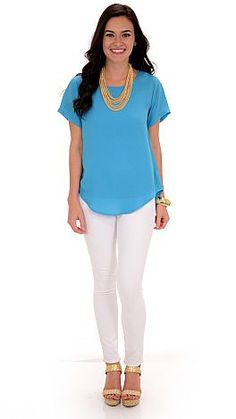 ShopBlueDoor.com: This blouse will take all the guesswork out of getting ready! $29