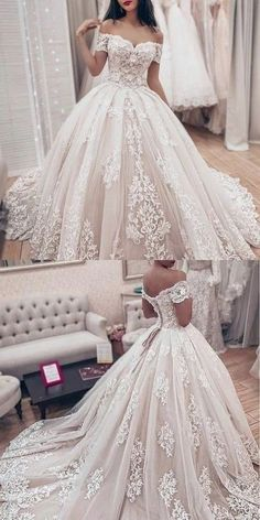 Cute Wedding Dress, Wedding Dress Trends, Princess Wedding Dresses, Wedding Bridesmaid Dresses, Dream Wedding Dresses, Wedding Suits, Bridal Dresses, Wedding Gowns, Lace Wedding