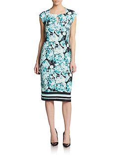 Floral-Print Sheath Dress...a Deborah dress, not a Veronica dress:)