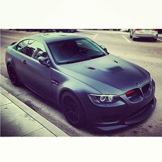Sick matte black BMW!