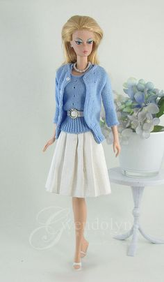 Blue Sweater Set 1 by Gwendolyns Treasures, via Flickr