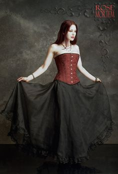 Chryseis Sparkle Gothic Skirt / Fairy Skirt in Organza and Lace - Custom Romantic Gothic Clothing