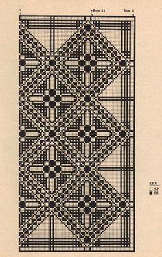 Free Crochet Mosaic Tablecloth Pattern