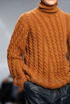 Allude F/W 2013 COLOUR-love the cables trailing off