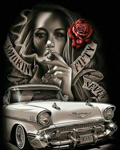 Top Canvas Designs Art Wallpaper Images for Womens Tattoo Chicana, Chicano Style Tattoo, Chicano Tattoos, Arte Cholo, Cholo Art, Gangster Tattoo, Arte Lowrider, Arte Do Hip Hop, Aztecas Art