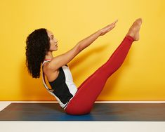 These Pilates exercises from Manuela Sanchez, an instructor at Club Pilates, all target your core to help you strengthen and stabilize your entire body.