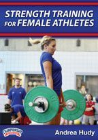 "Strength Training for Female Athletes -with Andrea Hudy,  University of Kansas Assistant Athletic Director for Sport Performance;  Only female strength and conditioning coach in Men's DI Basketball (Labeled as Kansas' ""secret weapon"" during the 2011-12 Men's Basketball Season)"