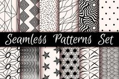 12 Incredible Seamless Patterns by OlhaKostiuk on Creative Market