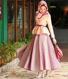 Dian Pelangi indonesian hijabi model