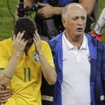Mondiali 2014: Scolari giustifica la sconfitta umiliante del Brasile