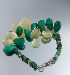 Turcoise.emeralds.lemon topaz