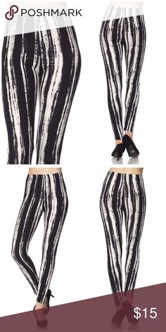 🆕 Tie Dye Print Brushed Ankle Leggings Get cozy with this cute and super soft brushed legging, featured in a tie dye print. With its smooth, comfortable fit. Wear these with a dressy top and a sexy pair of heels for a classy going out look, or an oversized off-the-shoulder top for a casual day ensemble. Paneled elastic waistband Approx. 27 in. inseam 92% polyester, 8% spandex. ONE SIZE FITS MOST (up to size 12) Pants Leggings