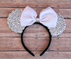 Hey, I found this really awesome Etsy listing at https://www.etsy.com/listing/251981145/wedding-mickey-ears-wedding-minnie-ears