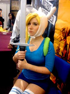 Fionna The Human  Cosplayer: Liz Sakura  2012