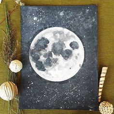 Moon watercolor painting  #moon #space #galaxy #stars #crater #sketch #painting #paint #watercolor #art #artist #instaartist #artwork #artsy #aquarelle #instagood #photooftheday #nature #decor #design #TagsForLikes #tagsforfollow #gallery #artcollective #artcollector #drawing #illustration #green #graphic #artoftheday